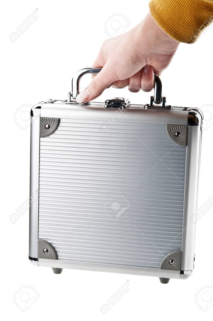 woman holding a briefcase Stock Photo - 11067643