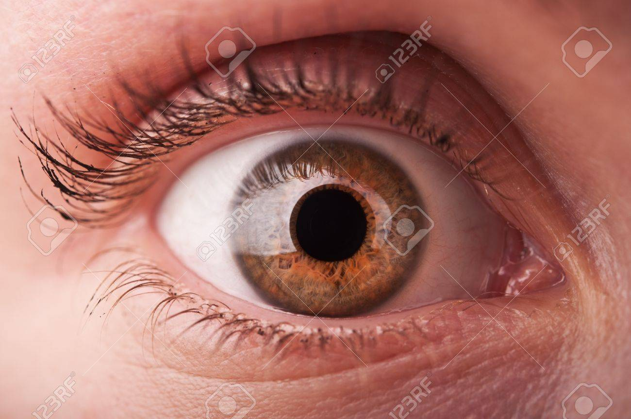 closeup of woman eye background Stock Photo - 14062028