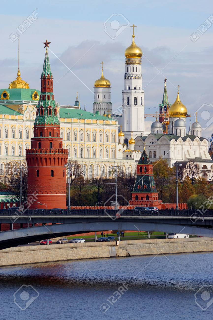 Russian capital of Moscow Kremlin, Russia Stock Photo - 23023505
