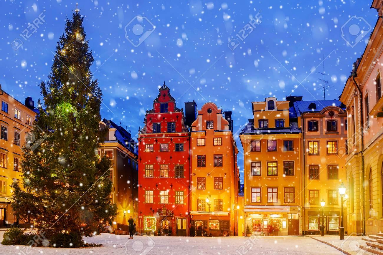 Christmas In Sweden.Christmas In Stockholm Sweden