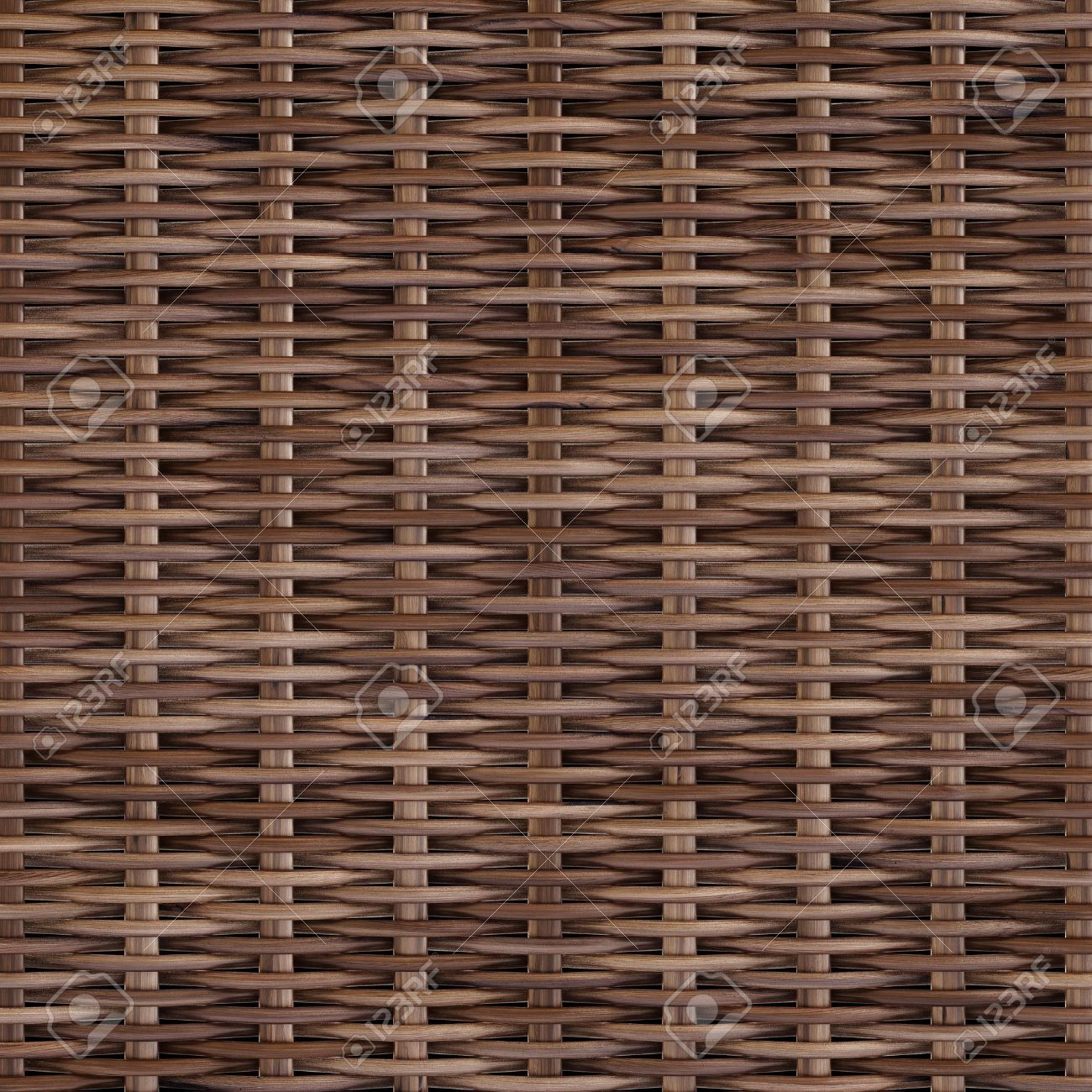 woven rattan with natural patterns Stock Photo - 12011201