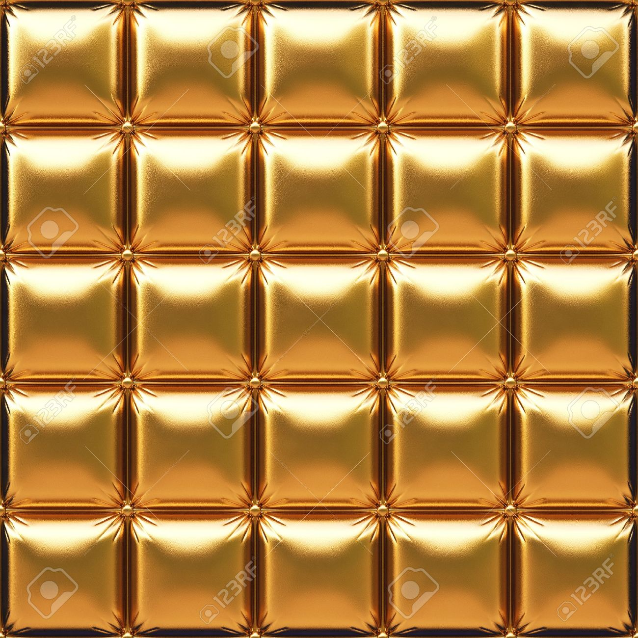 luxurious golden leather Stock Photo - 15847789