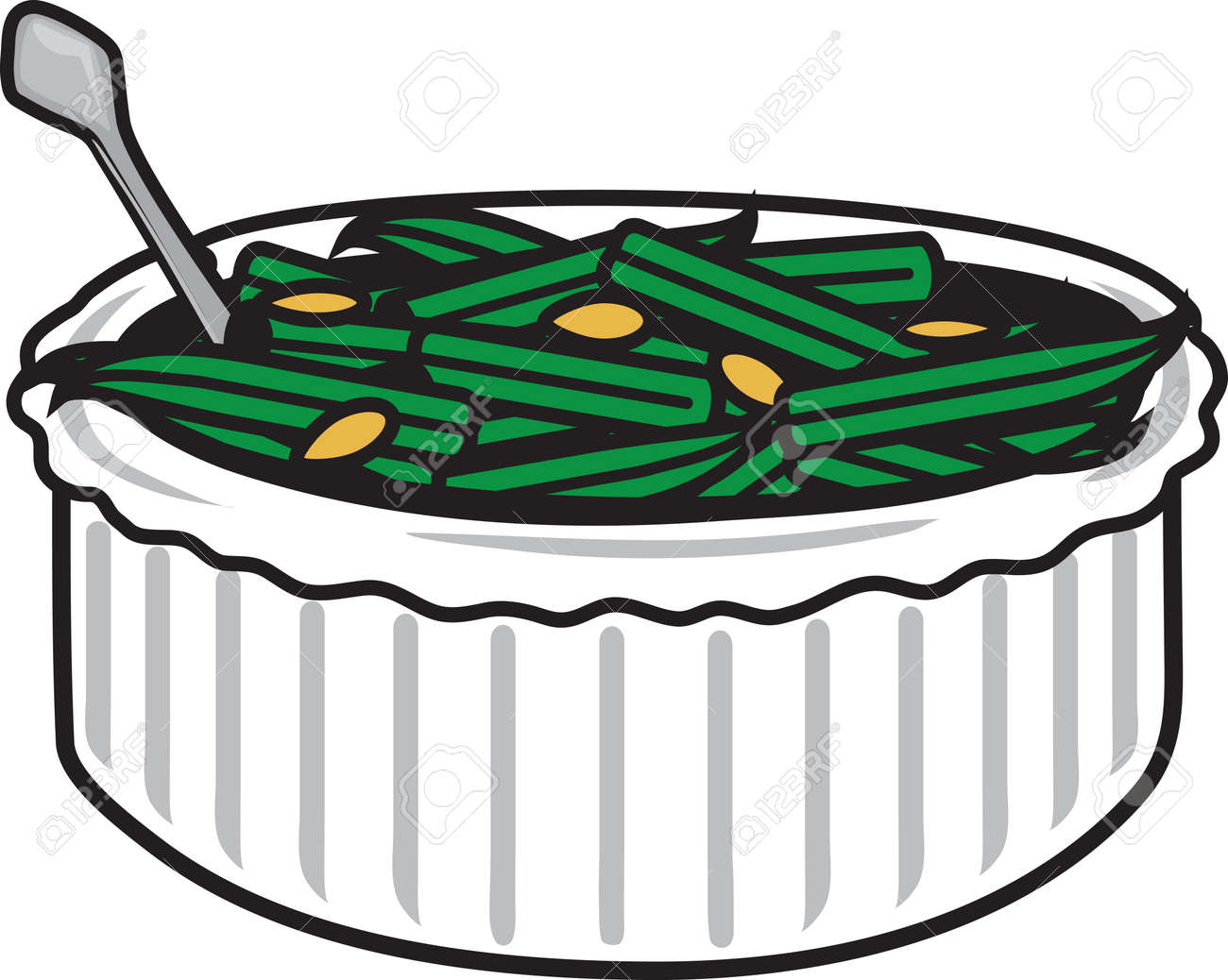 Image result for green bean clipart