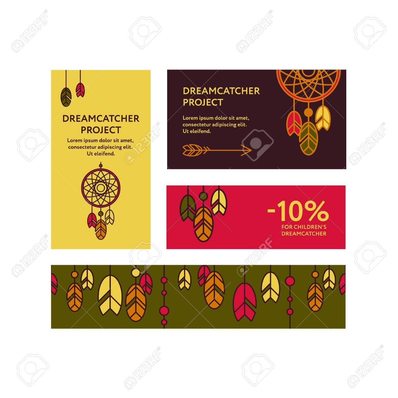 Cartes De Visite Et Bannieres Promotionnelles Avec Une Photo