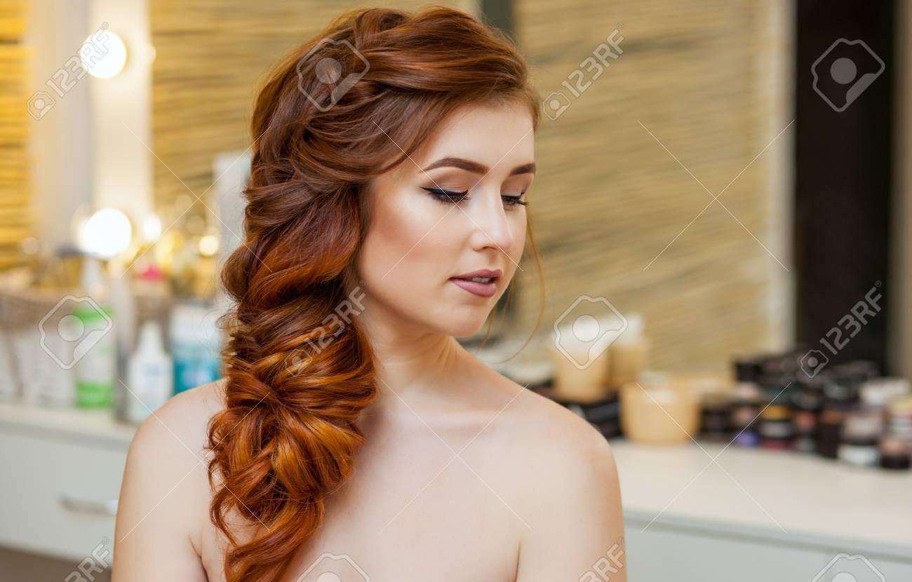 Girl hairy redhead