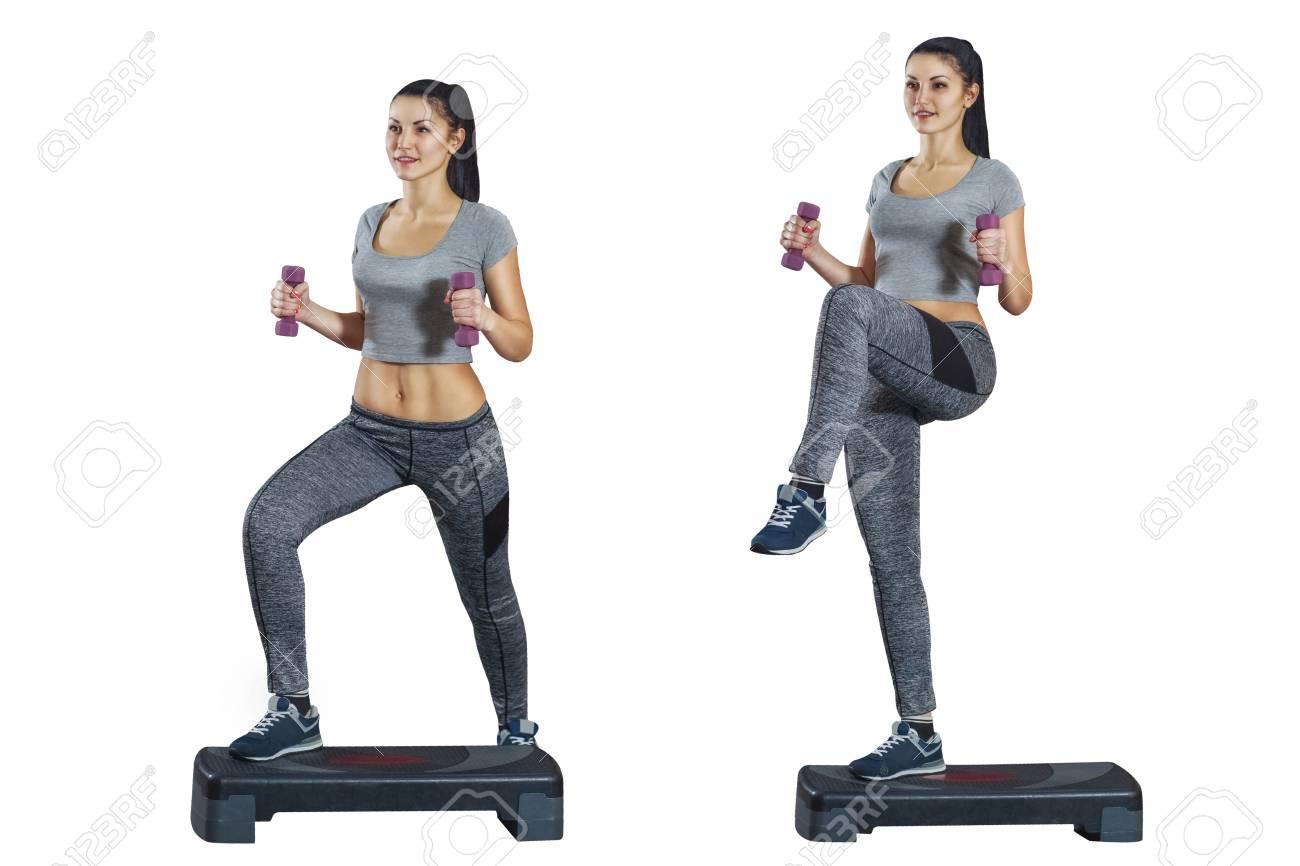 disegni di esercizi aerobici per bruciare i grassi