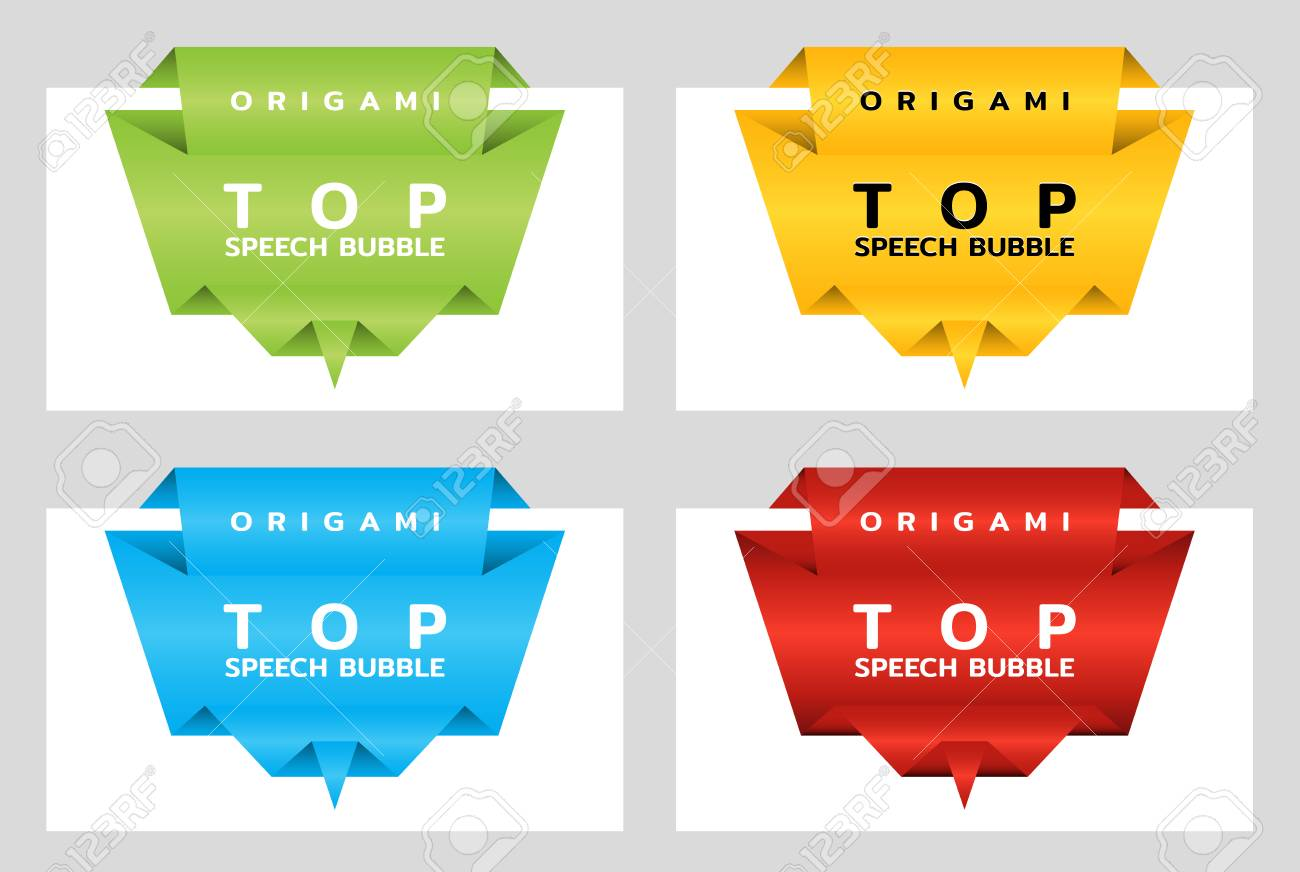 origami paper banners for top price tag template for catalog