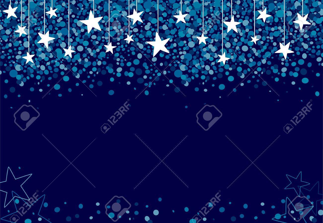 Les Etoiles Tombent Du Ciel #9: Contexte Fait Des étoiles Qui Tombent Du Ciel La Nuit Banque Du0027images -  48180043