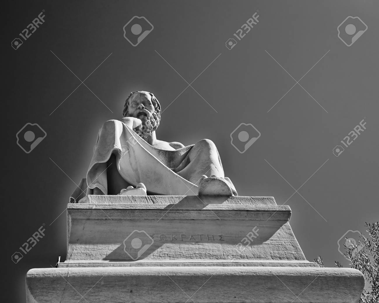 Socrates, the ancient Greek philosopher Stock Photo - 25063820