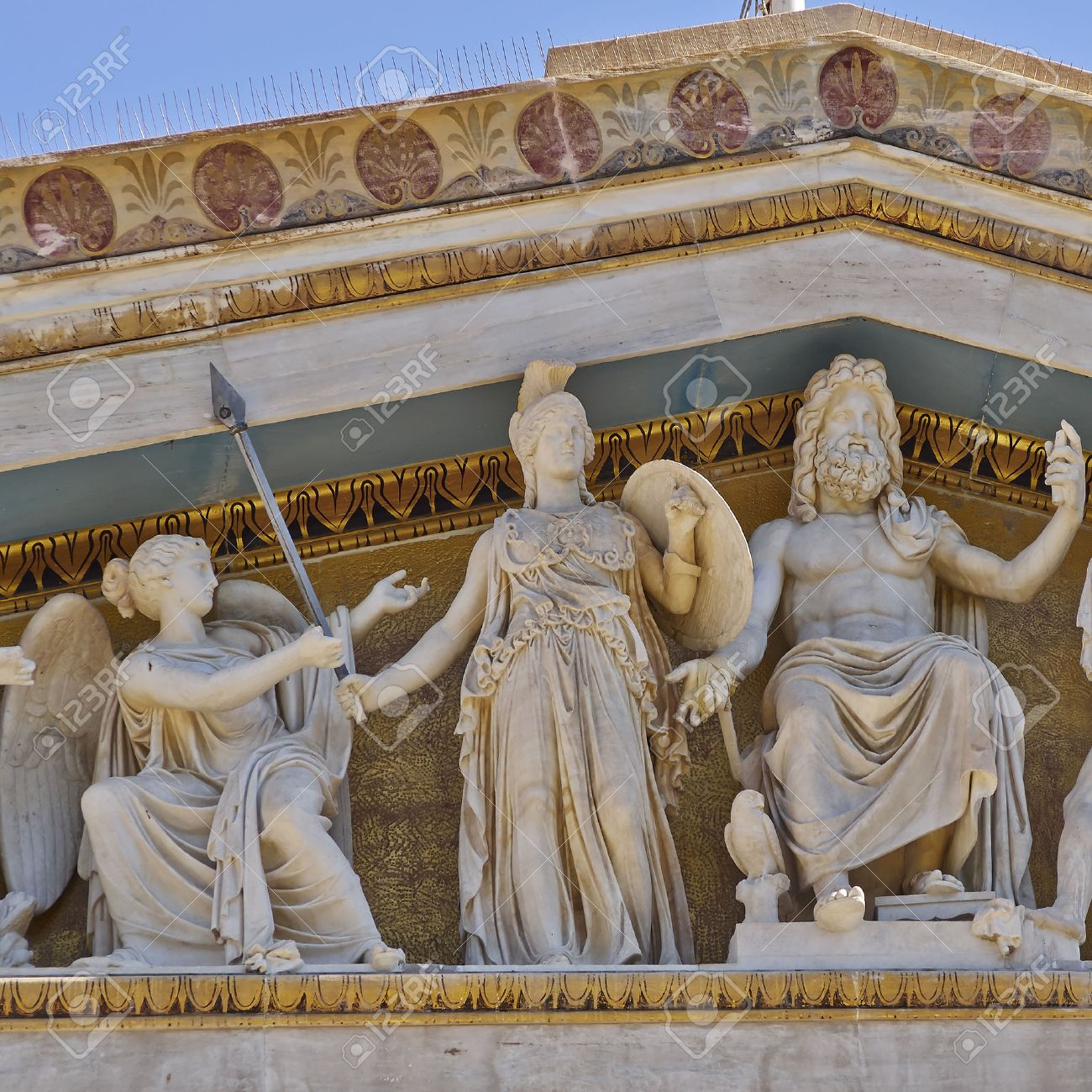 zeus athena and other ancient greek gods and deities national
