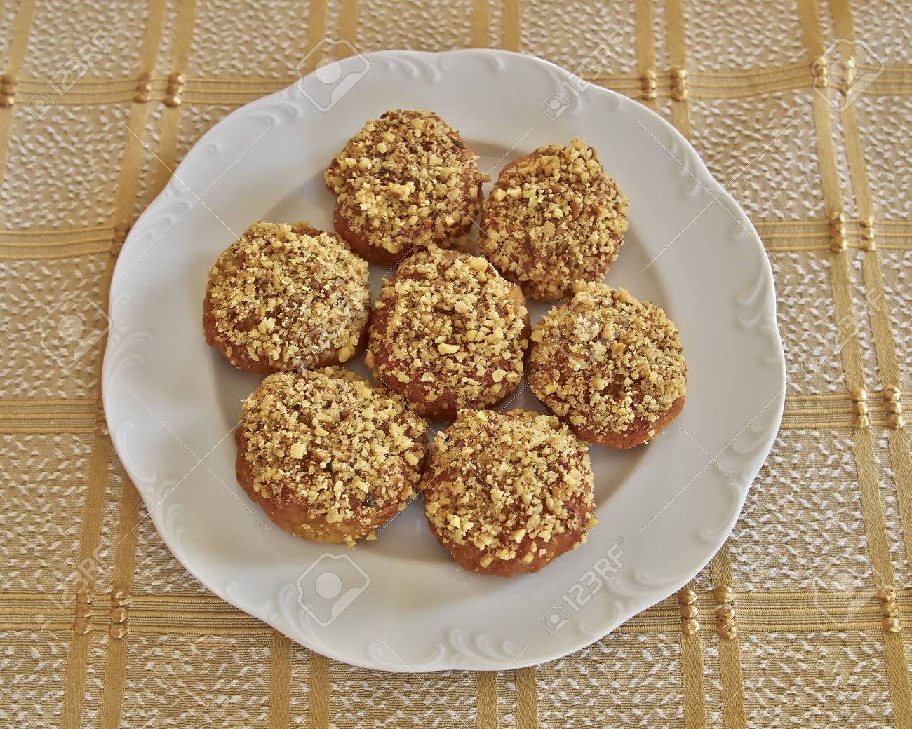Melomacarona Gourmet Greek Christmas Cookies With Walnuts And