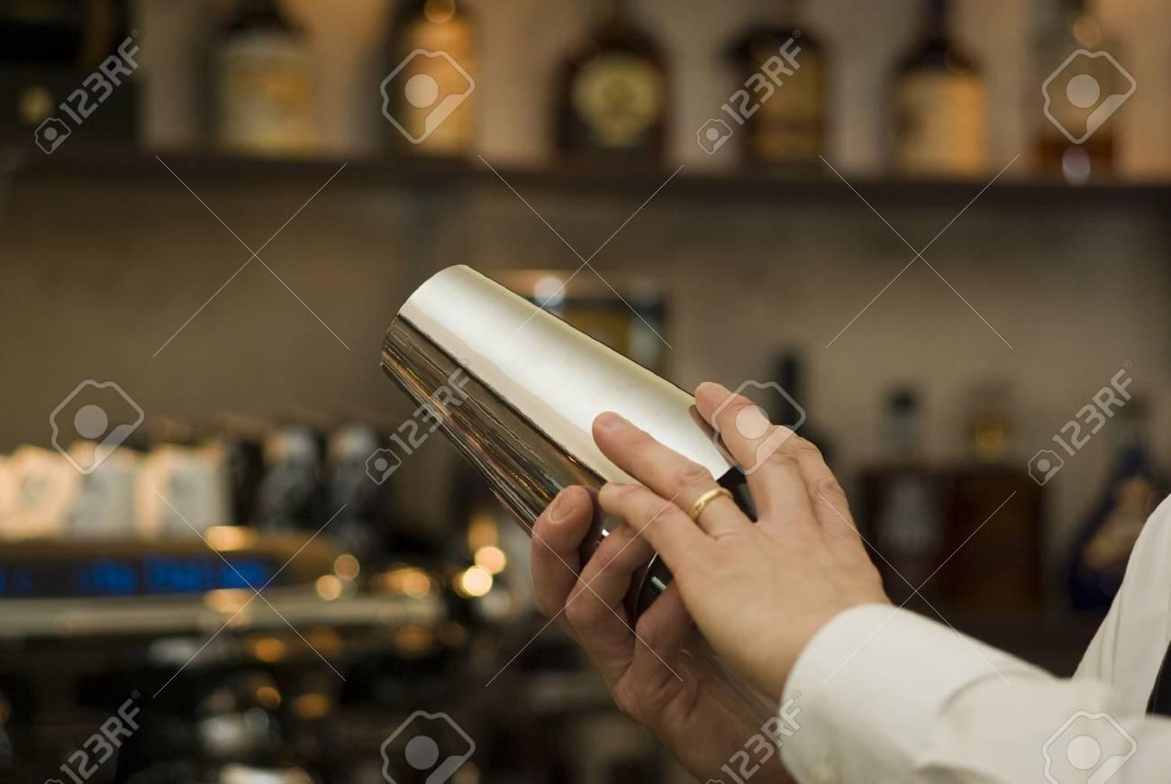 Cocktail shaker Stock Photo - 9011382