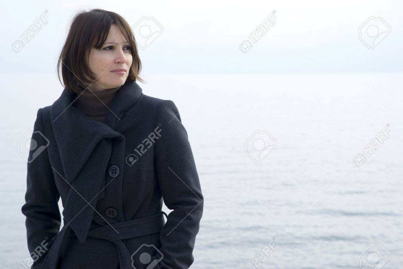 Portrait of serious young woman Stock Photo - 9811214