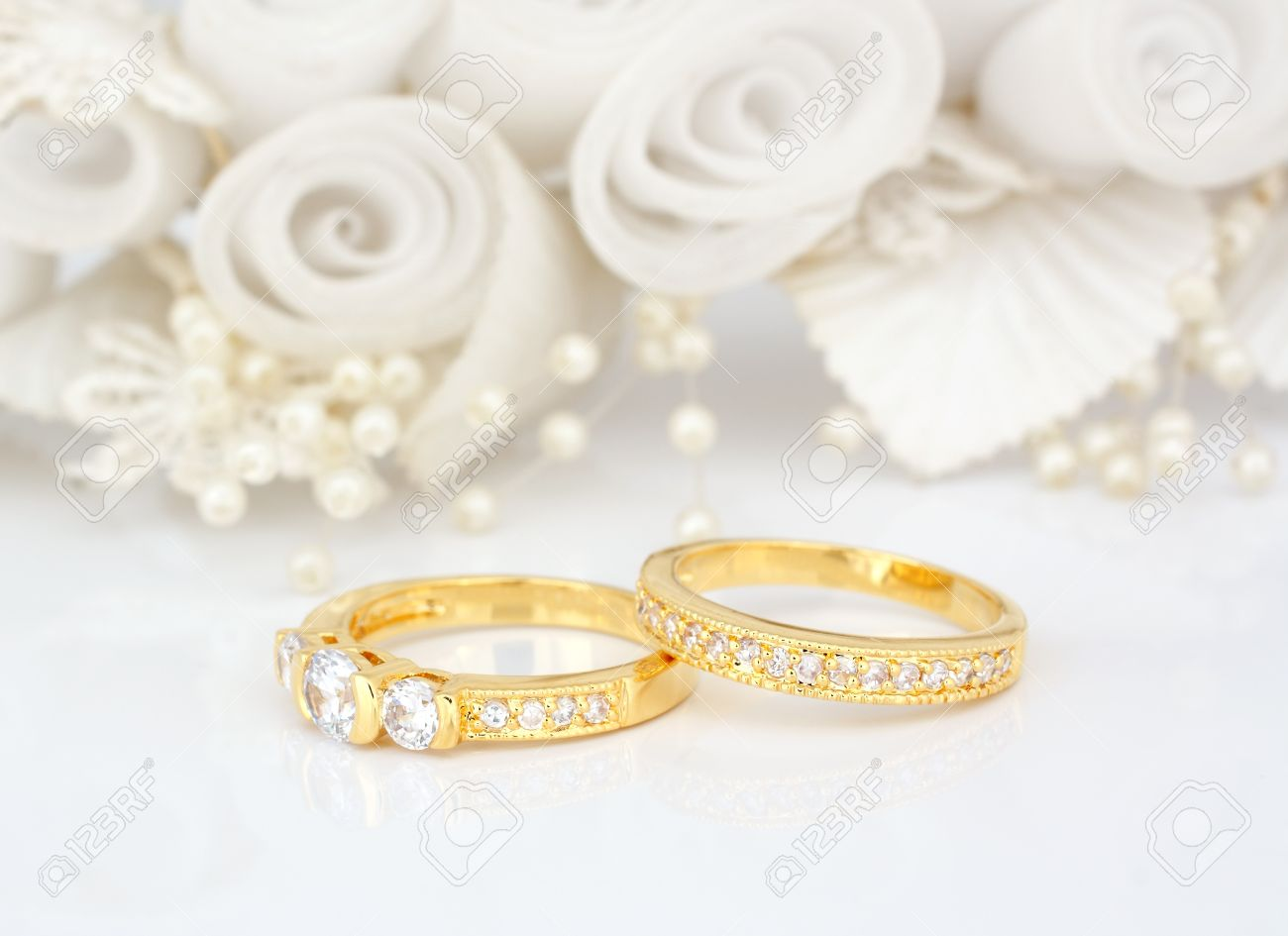 gold ring art rings engagement deco flower styled unique sneualx designed floral design diamond wedding cute white