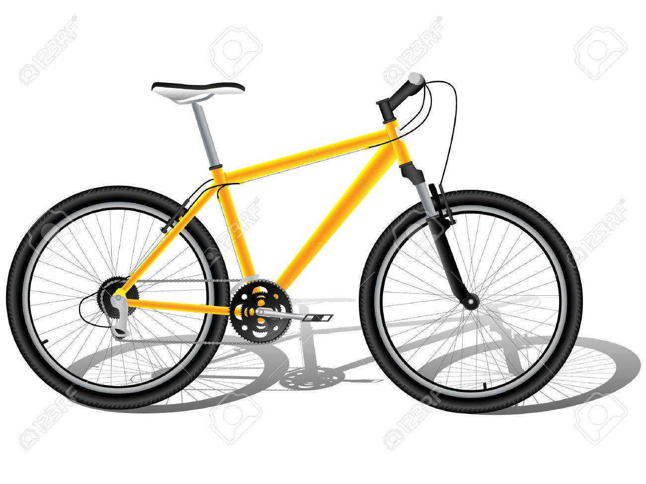 Mountain bicycle Stock Vector - 8350900