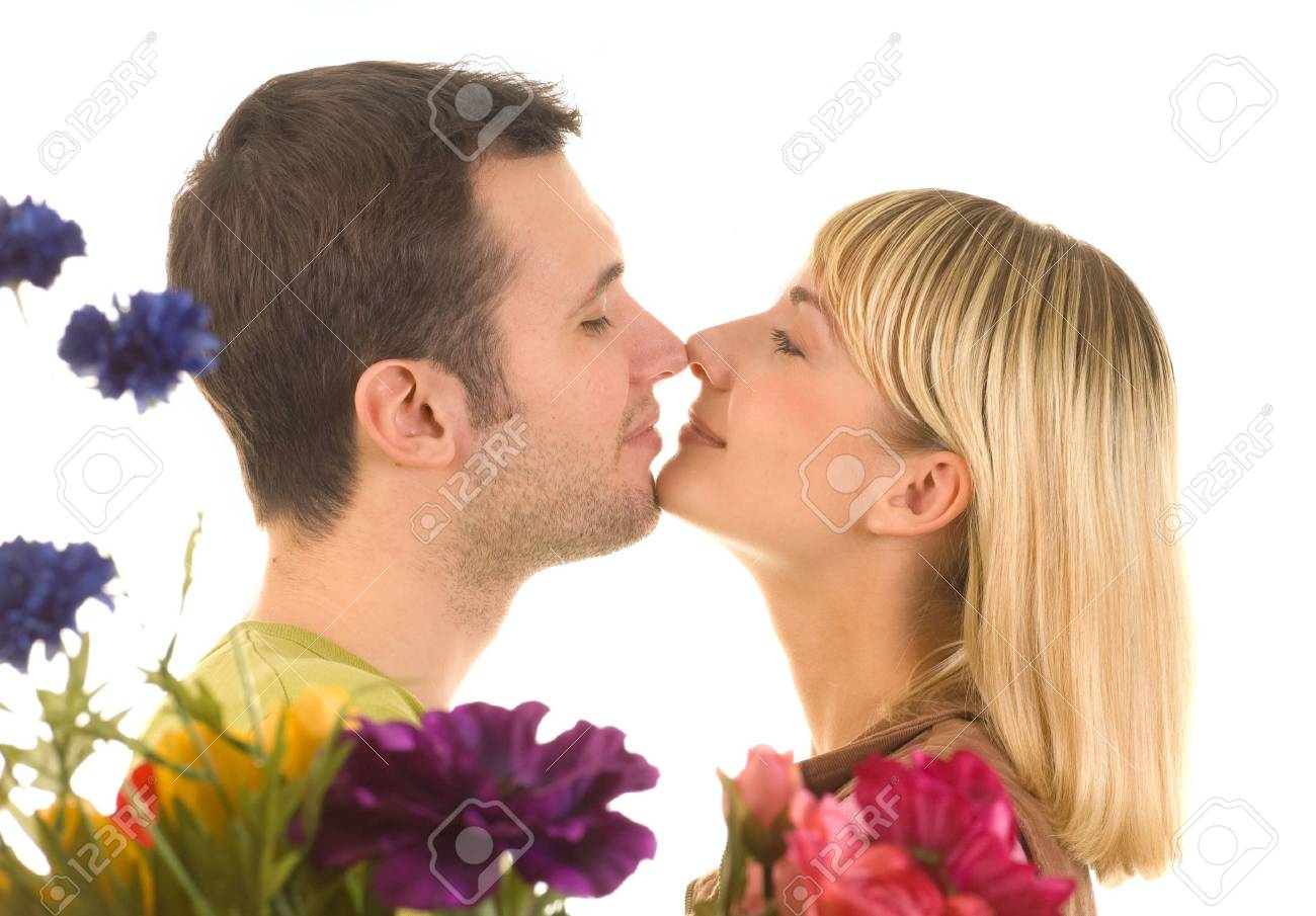 Young couple in love Stock Photo - 4240263