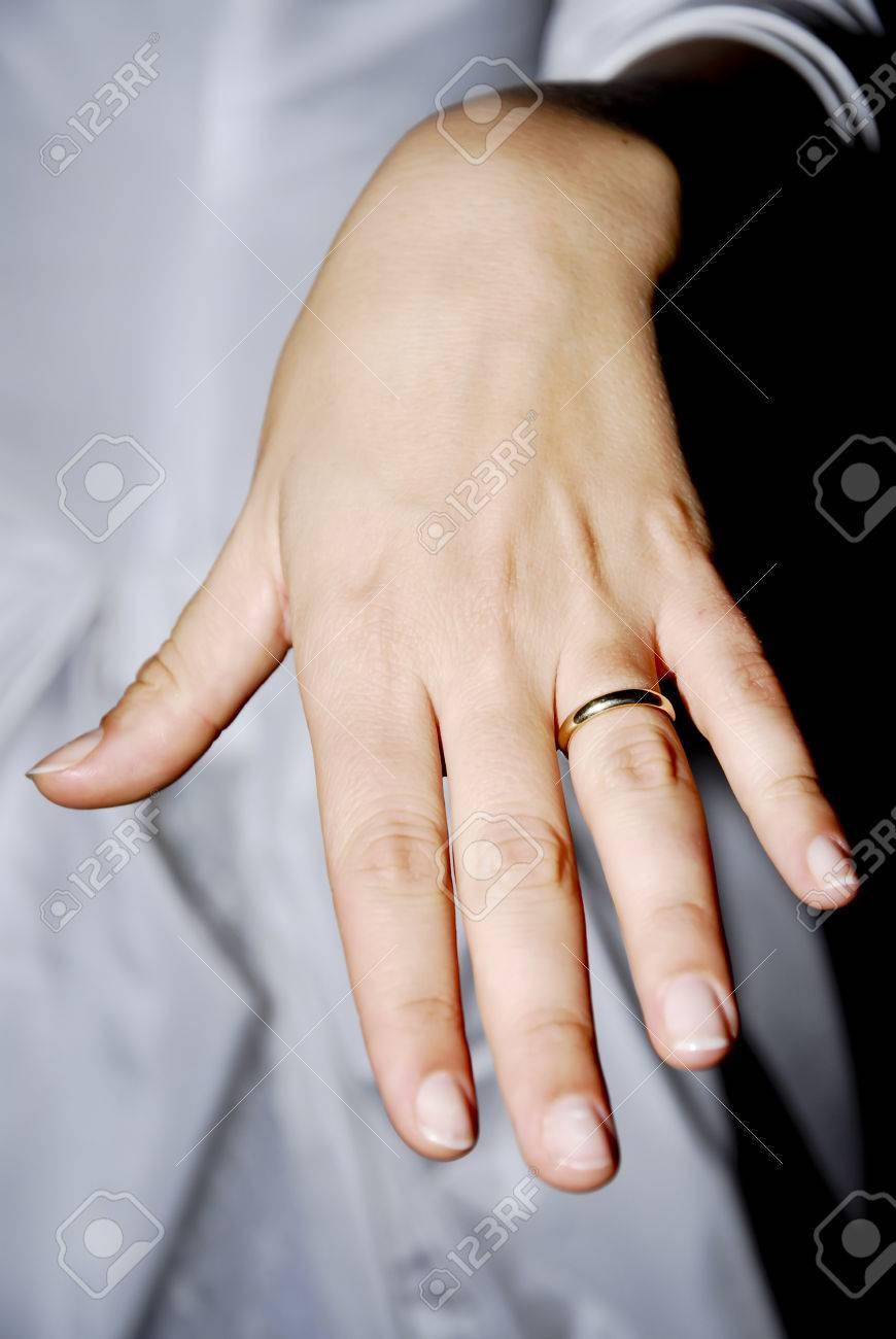 Hand showing a wedding ring stock photo picture and royalty free hand showing a wedding ring stock photo 26009986 junglespirit Images