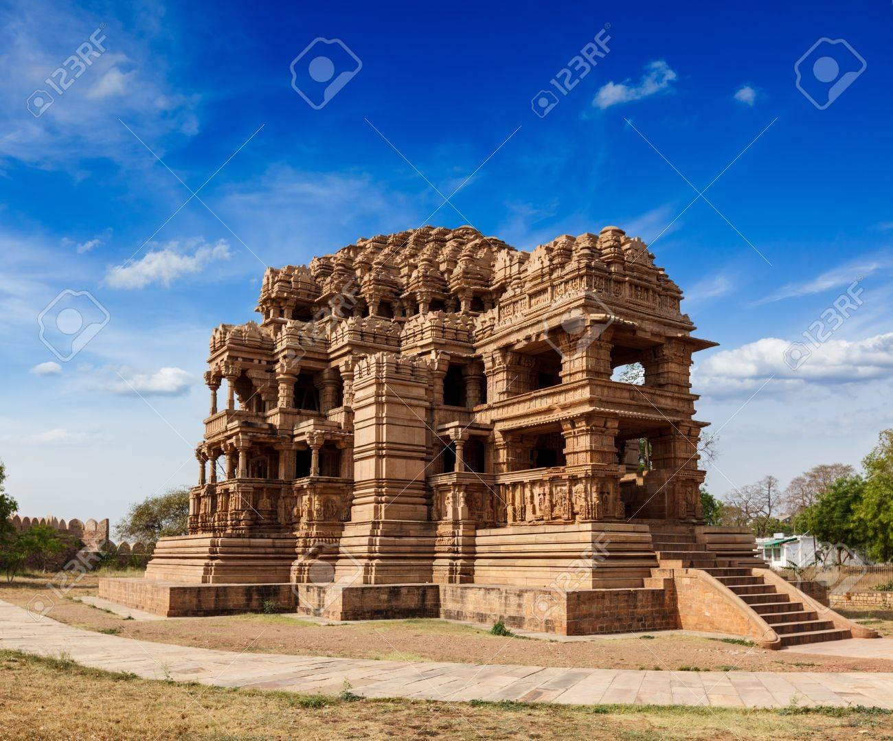 Sasbahu Sas Bshu Ka Mandir Sahastrabahu Temple Temple à Gwalior