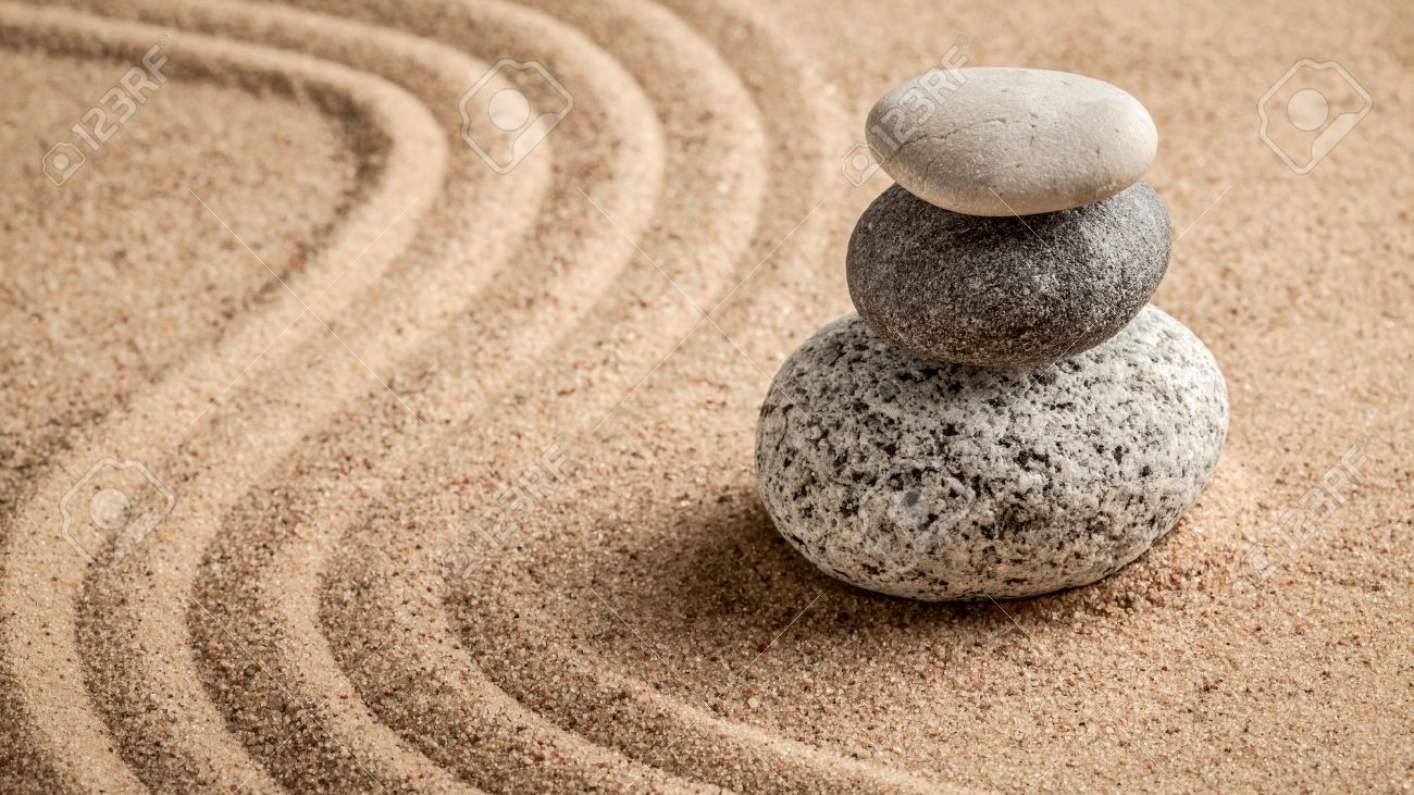 Simplicity stock photos royalty free business images japanese zen stone garden relaxation meditation simplicity and balance concept panorama of buycottarizona