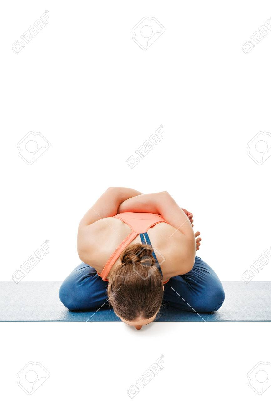 Woman Doing Asthanga Vinyasa Yoga Asana Yoga Mudrasana Yoga Stock Photo Picture And Royalty Free Image Image 65820209