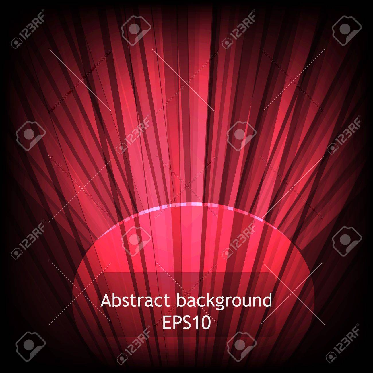 Abstract red background. Stock Vector - 13672965