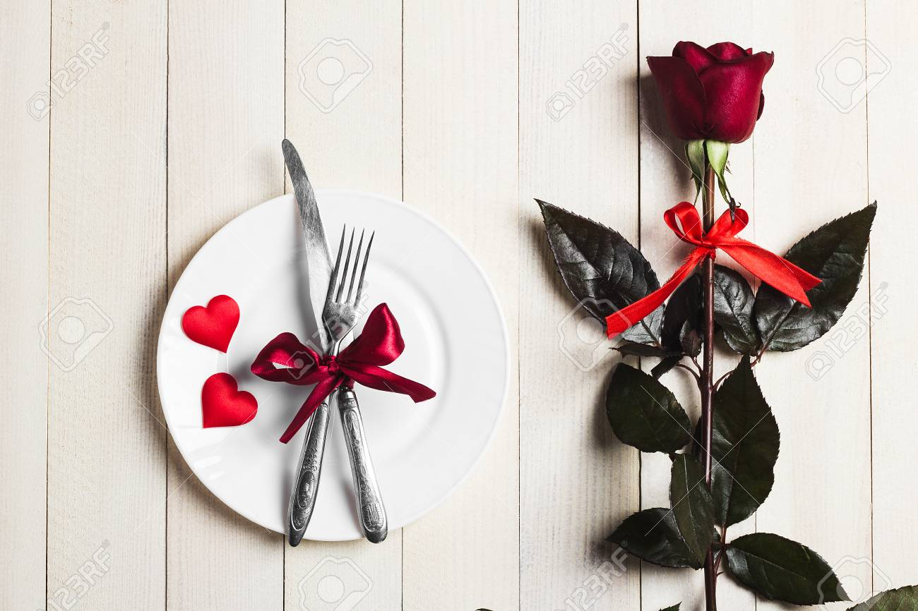 Valentines Day Table Setting Romantic Dinner Marry Me Wedding ...