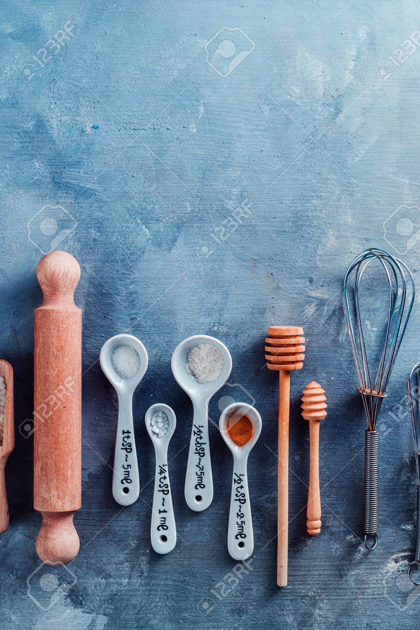 Measuring Spoons, Wooden Scoops, Whisks, Rolling Pin, Honey Spoons ...