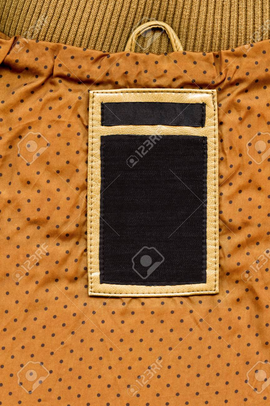 57f47451100e Big size blank grungy combined artificial leather and dark cotton and jeans  label on yellow dotted