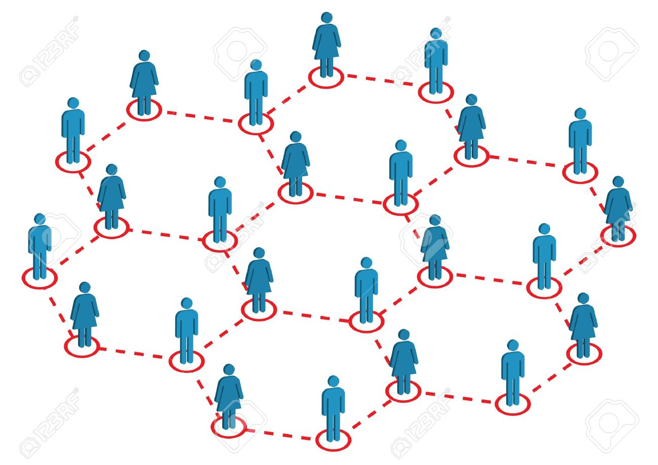 Global Female Male Distribution Illustration Stock Vector - 7480002