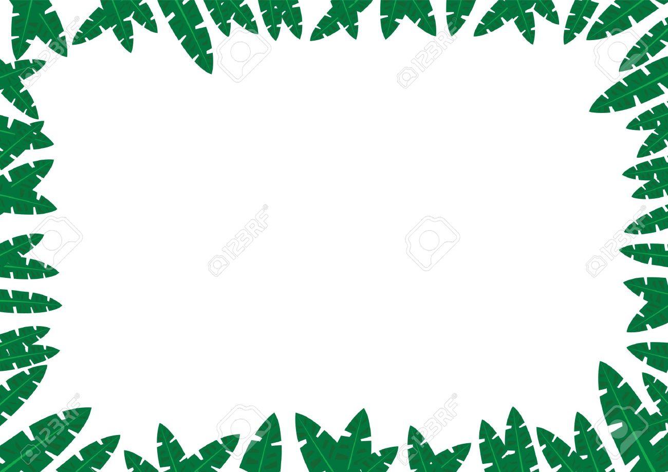 Tropical Jungle Frame Concept - 9540060