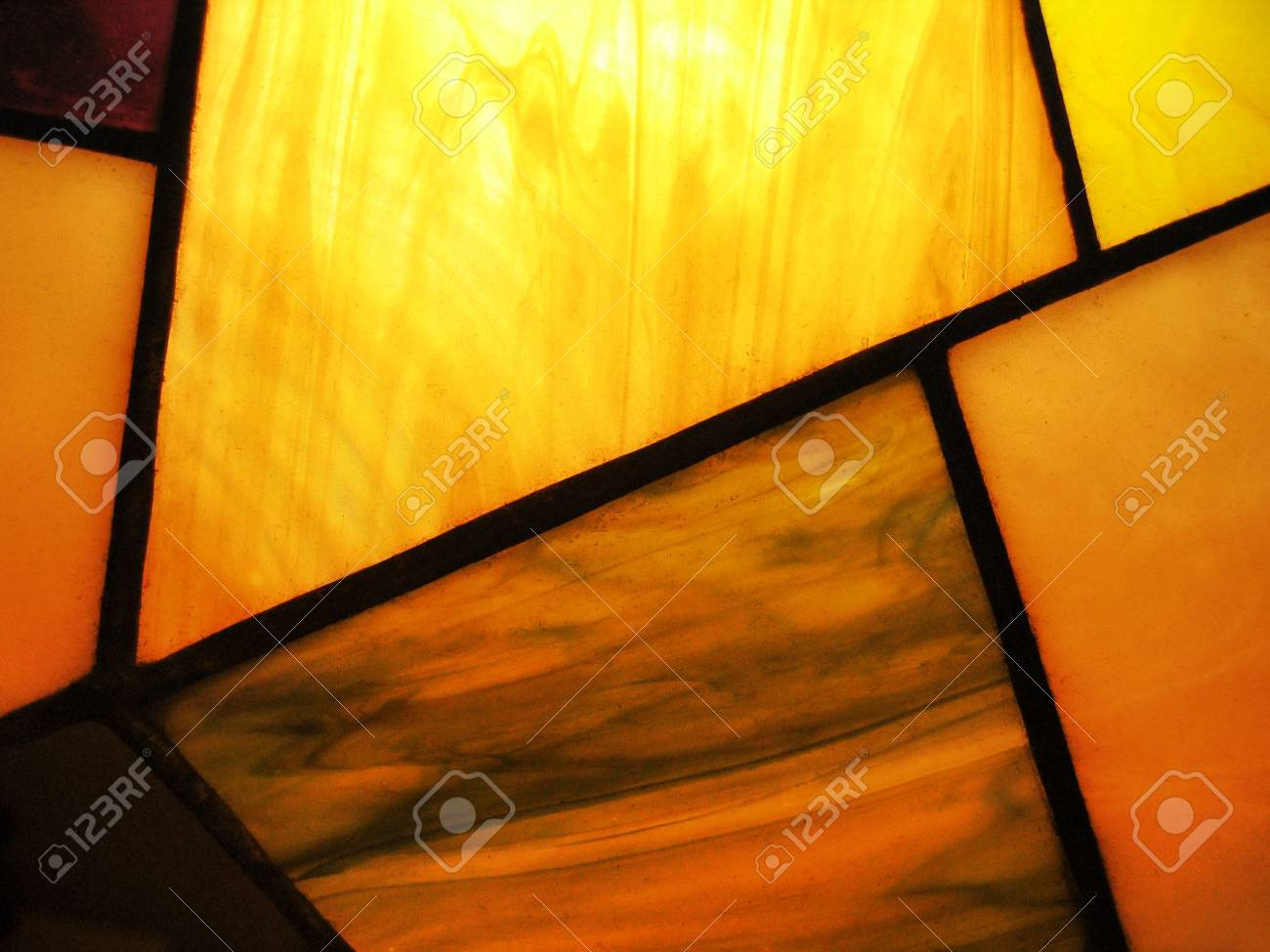 stained glass with back-lit - 7757311