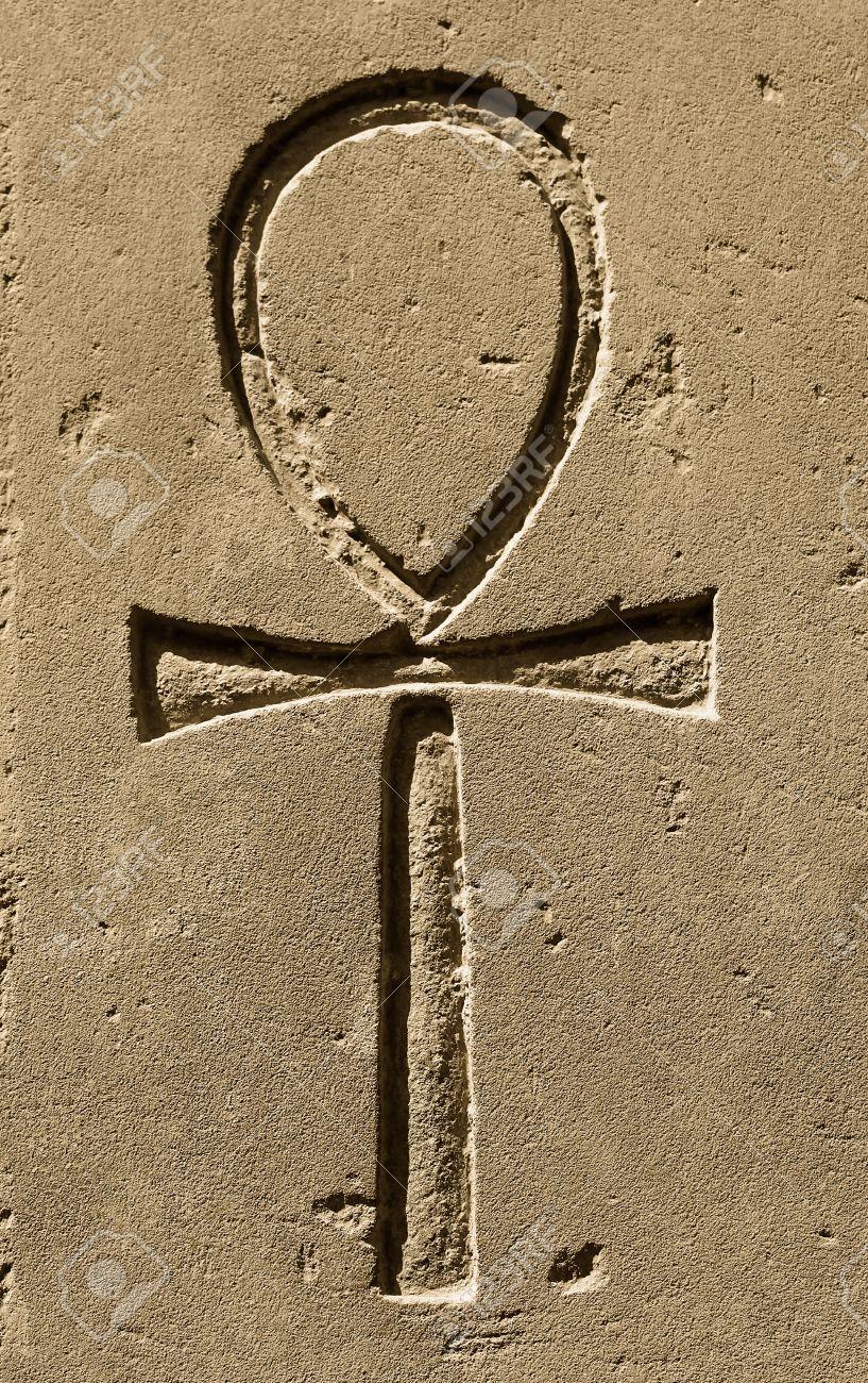 Ancient Egypt Symbol Ankh Key Of Life Eternal Lifeegyptian Stock