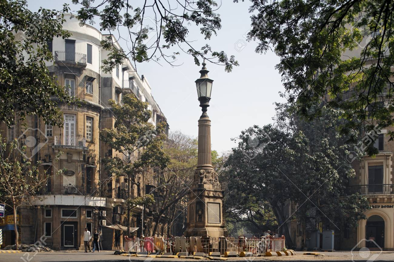 ballard estate,bombay mumbai,maharashtra,india stock photo, picture
