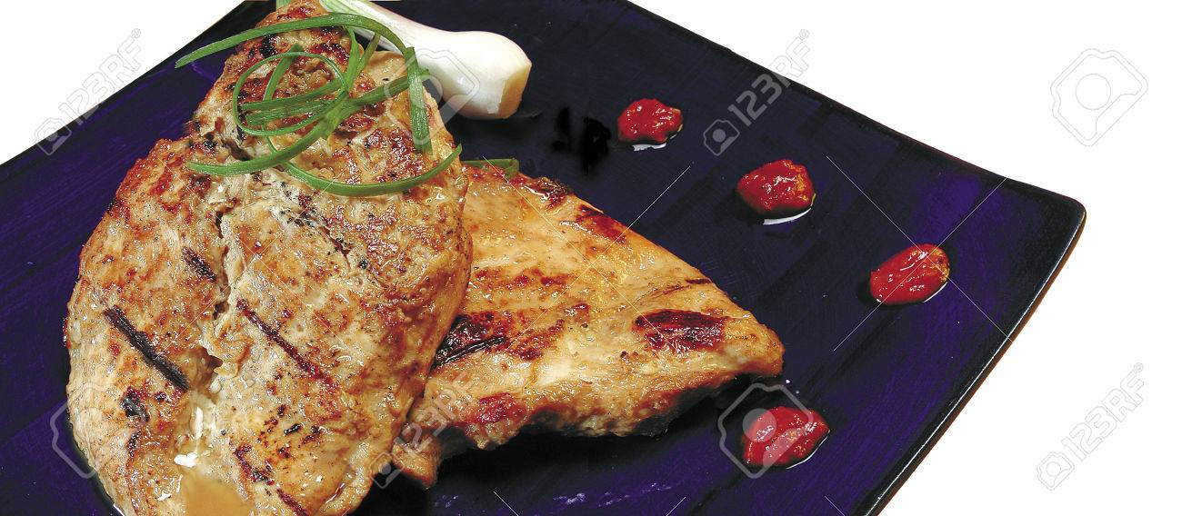Non Vegetarian Mealjapan Cuisinegrilled Chicken Teriyaki Served
