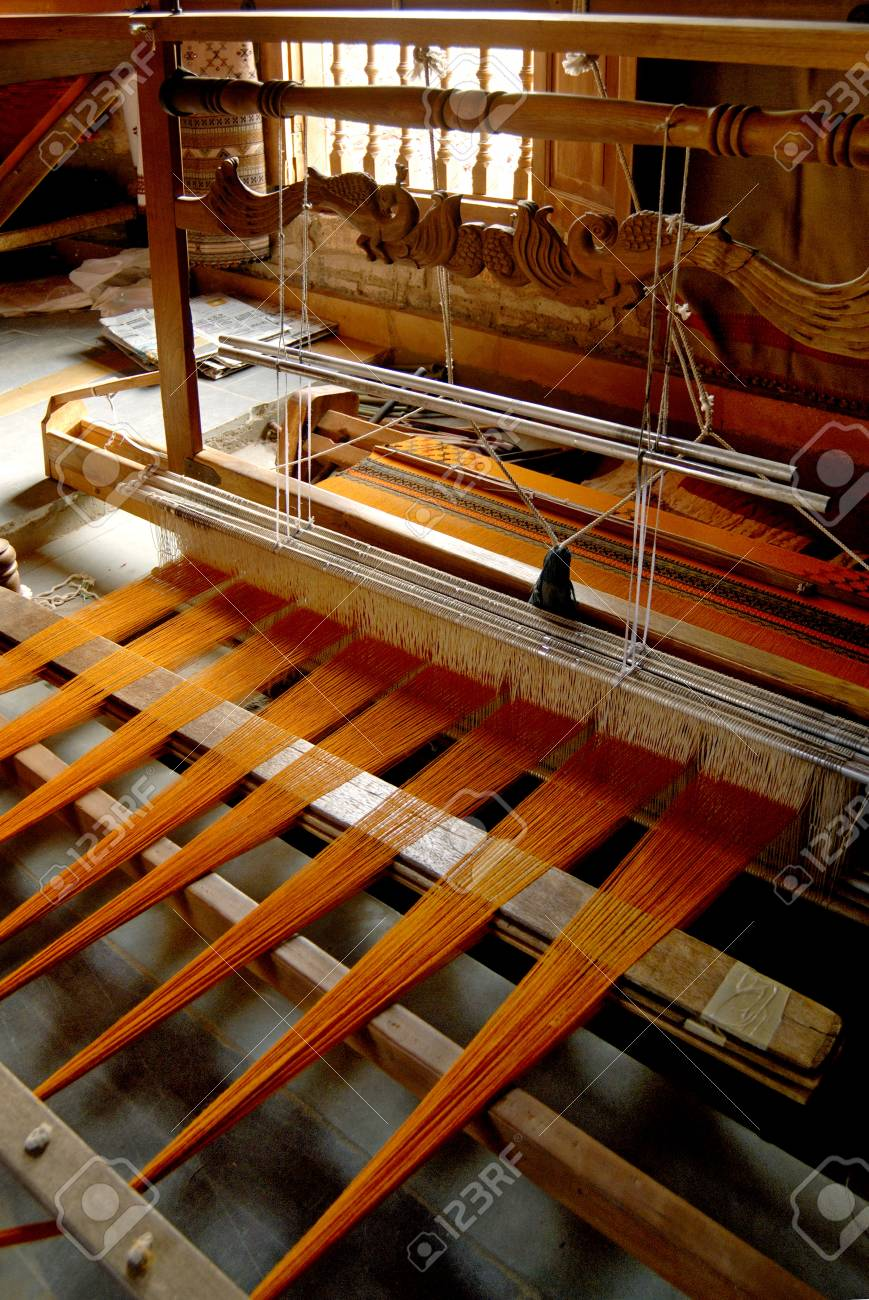 Handloom weaving,Bhuj,Kutch,Gujarat,India