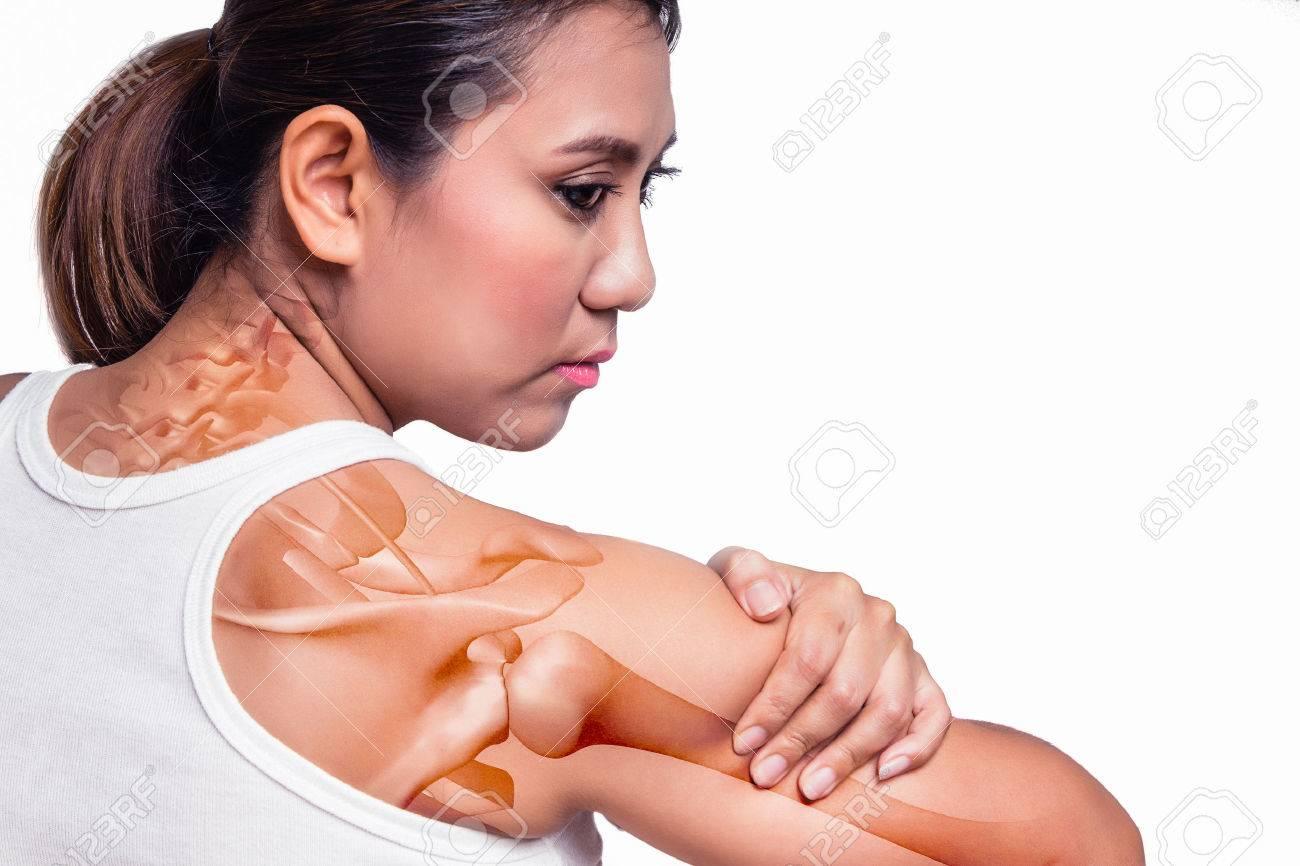 dolor en el hombro hasta el brazo