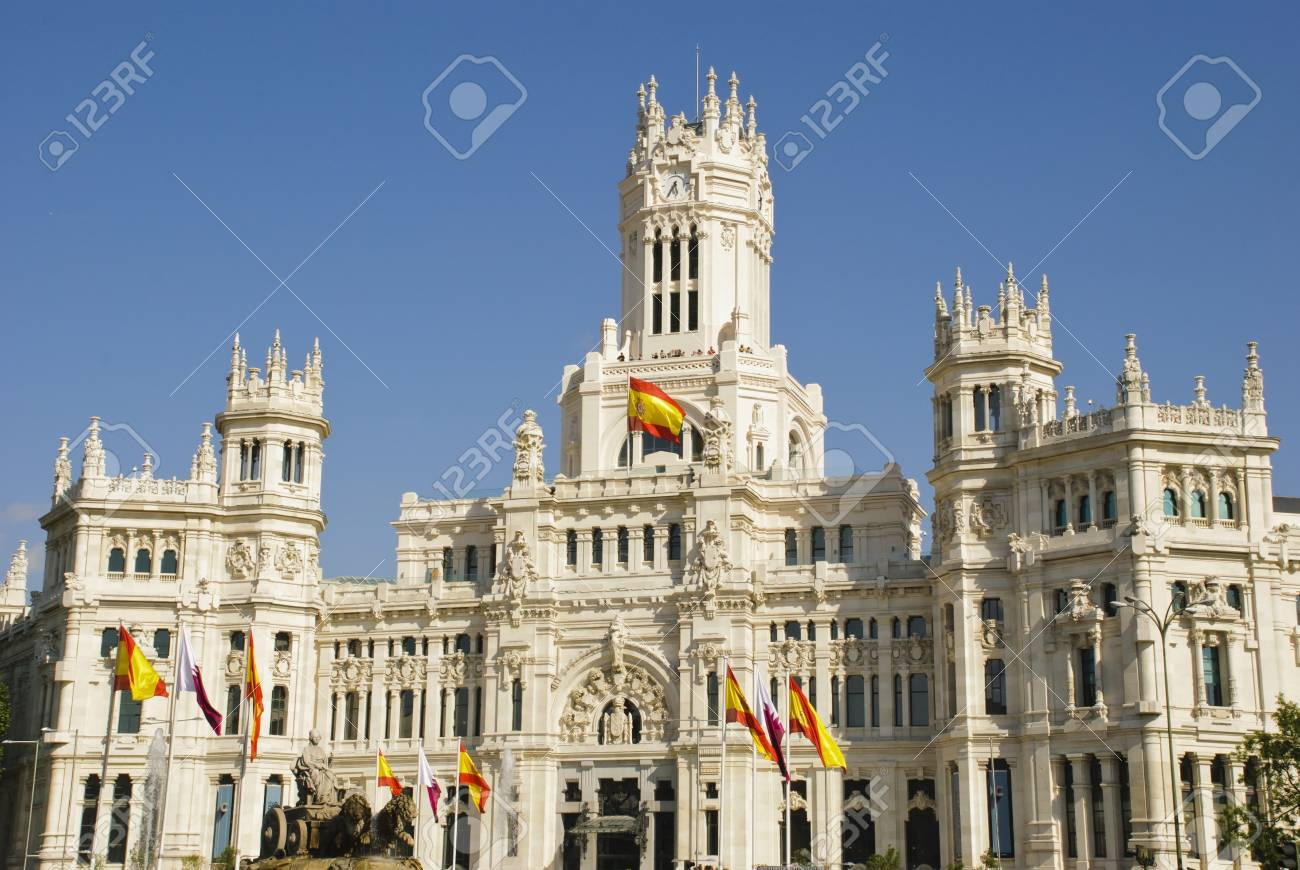 Palacio De Cibeles Madrid Spain