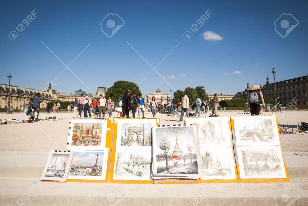 Paris France June 8 Art Images Featuring Parisian Main