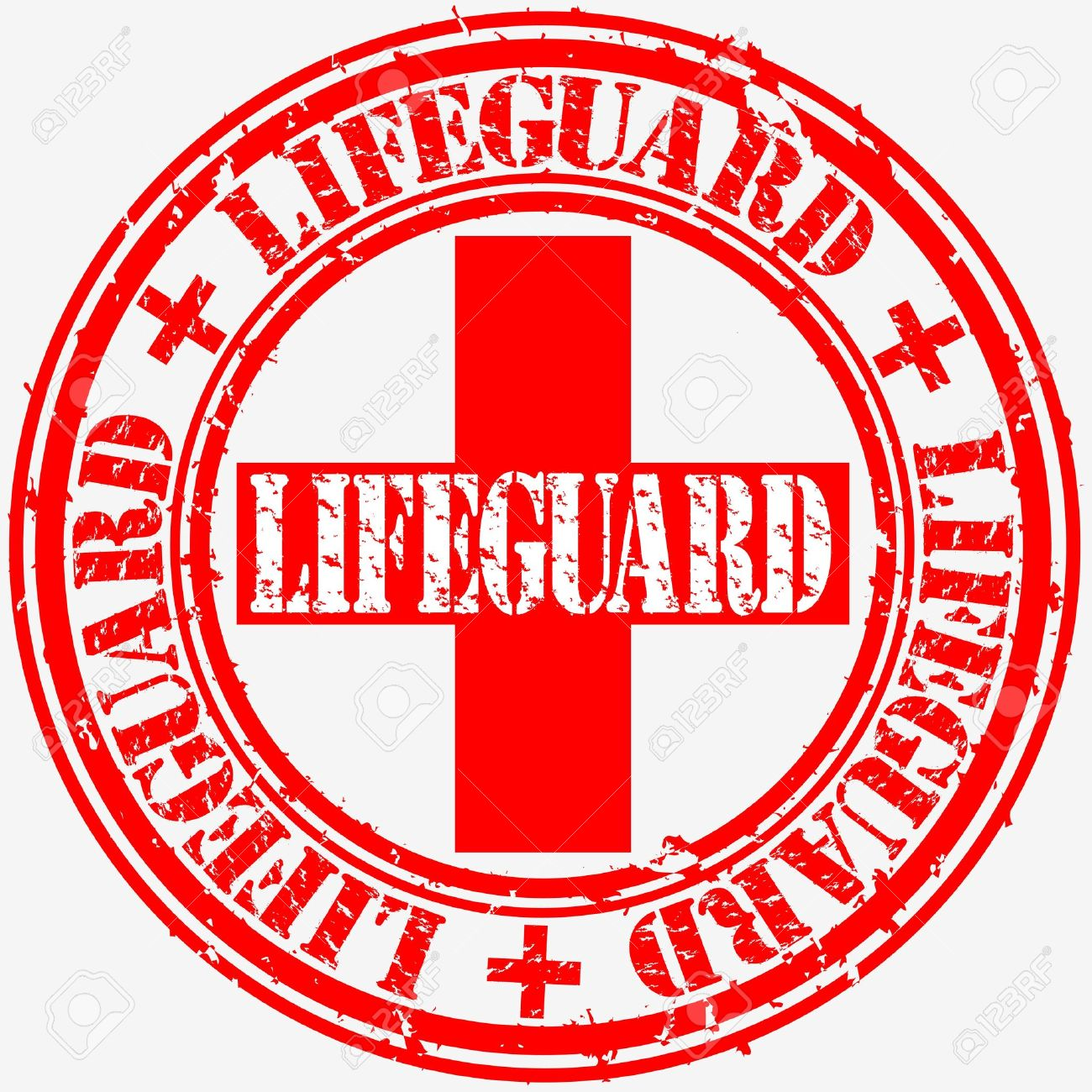 grunge lifeguard rubber stamp vector illustration royalty free