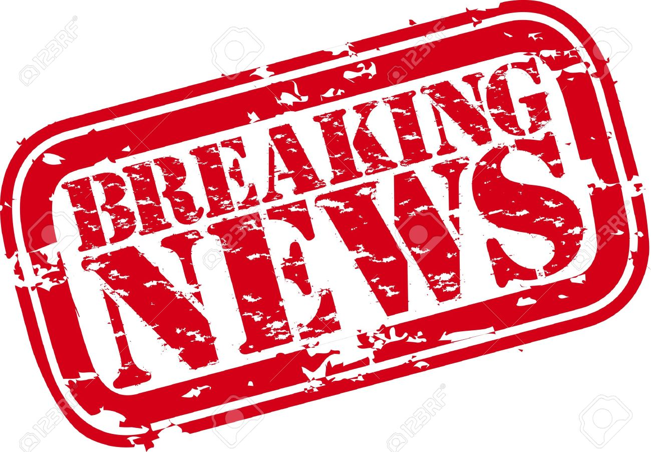 Grunge breaking news rubber stamp Stock Vector - 15656449