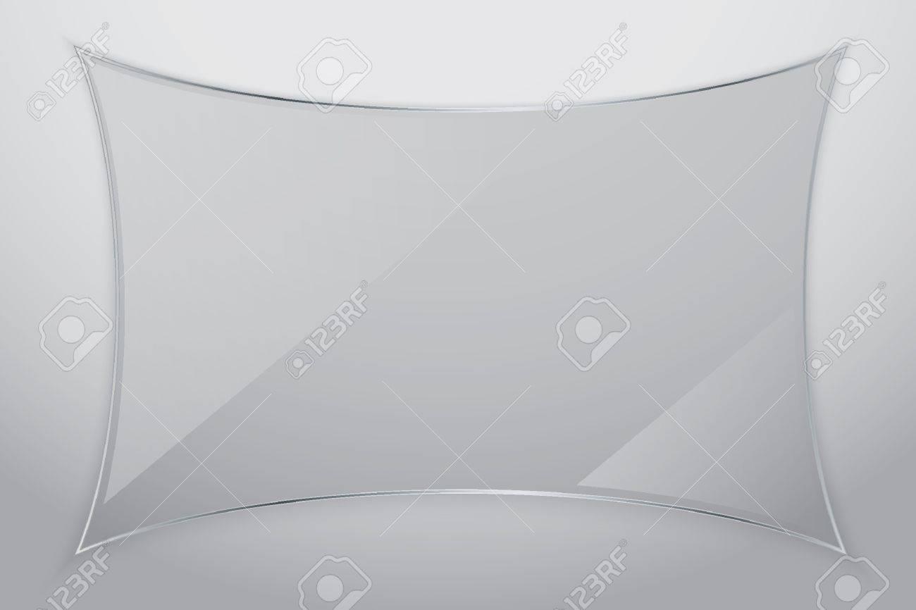 Glass frame, vector illustration Stock Vector - 17893942