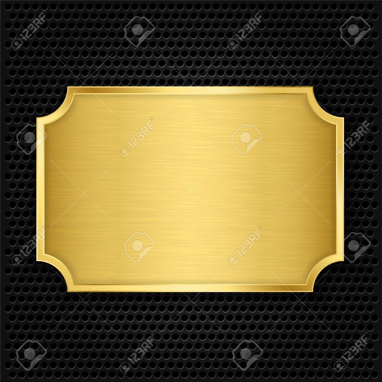 Brass Gold Texture Gold Texture Plate Vector