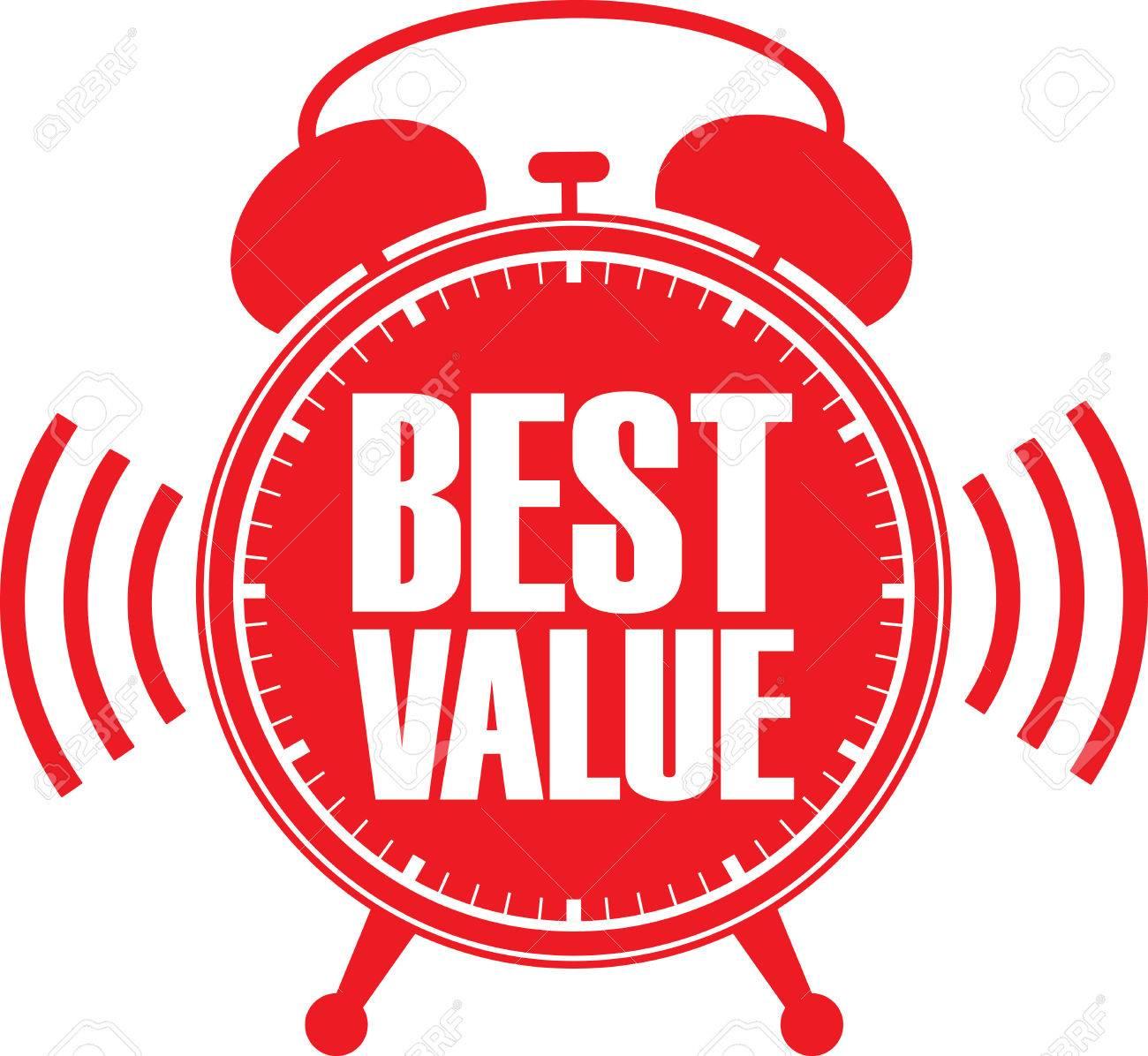 Best value red alarm clock, vector illustration - 56755748