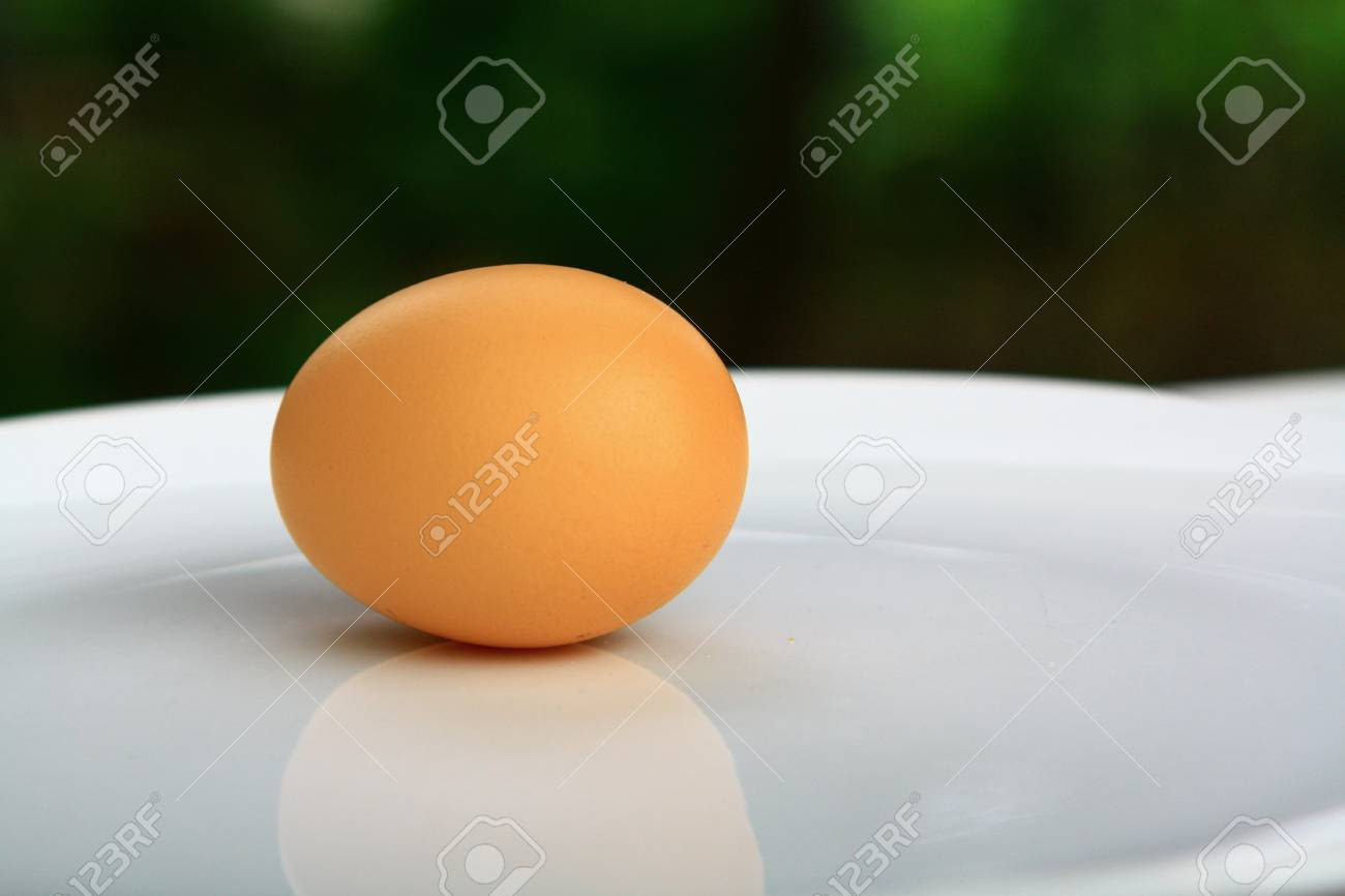 chicken eggs to cook healthy variety of foods daily. Stock Photo - 10767035