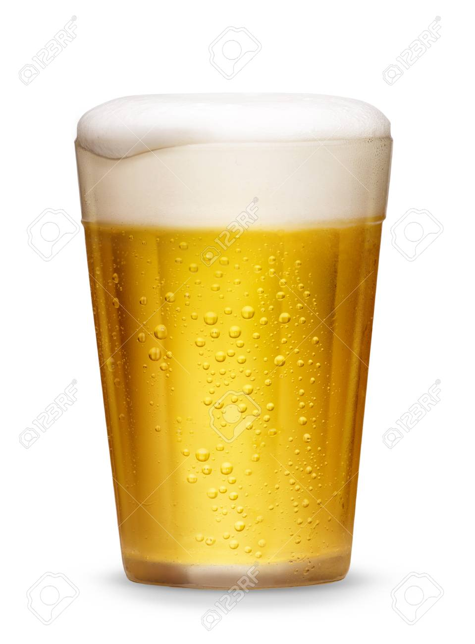 Glass of cold beer - 49967125