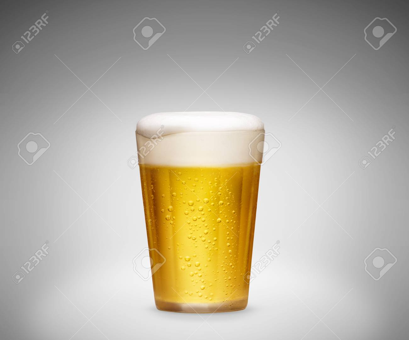 Glass of cold beer - 49967300