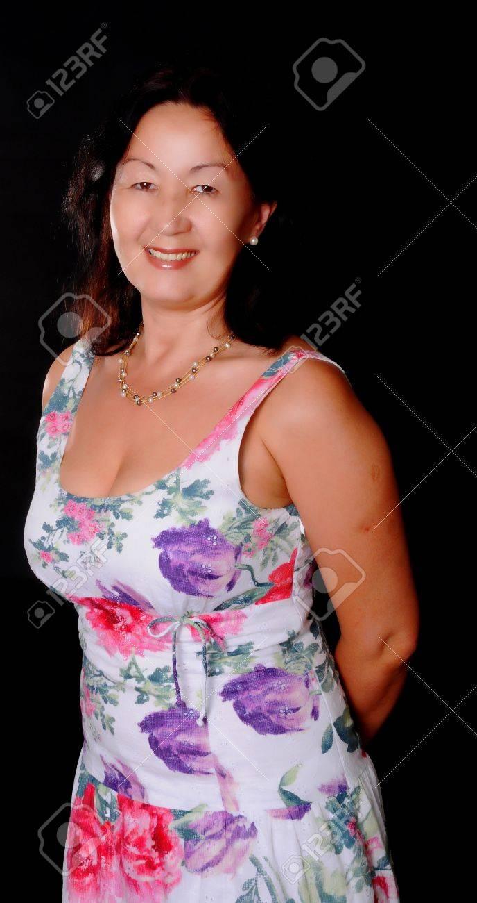 Sexy reife asiatische Dame