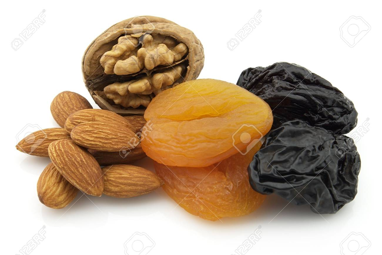 Dried nuts with fruit Stock Photo - 6544773