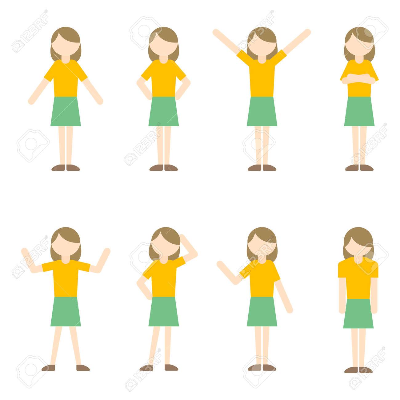 Flat Icon Person Mom Woman - 168585544