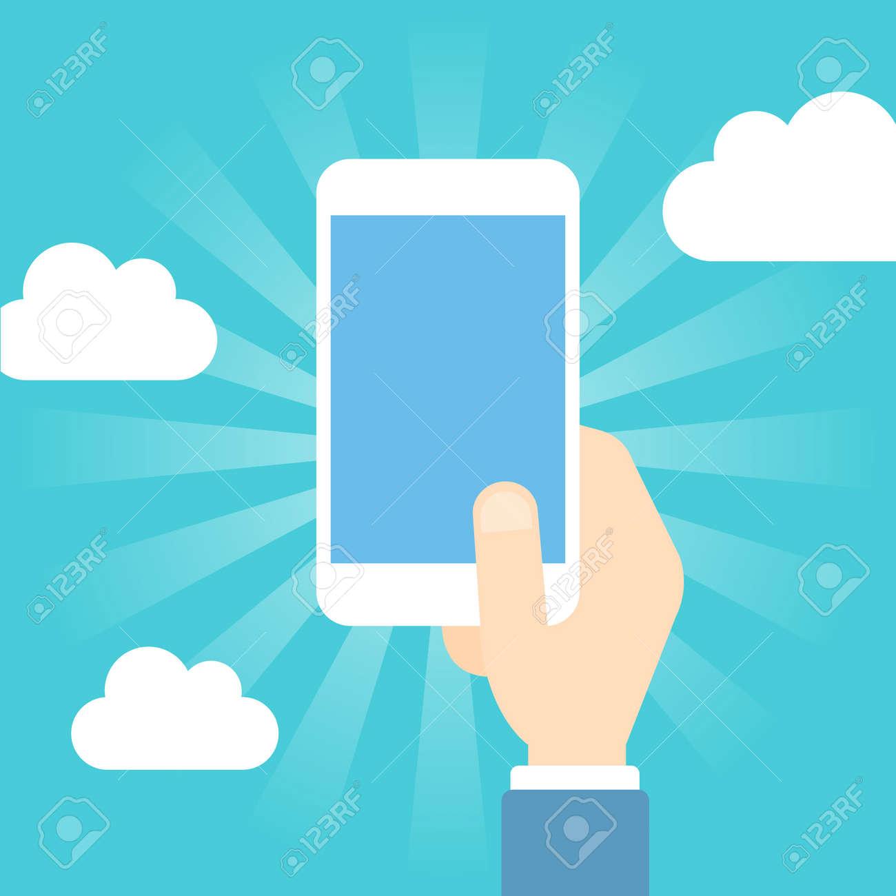 Smart phone operation - 168556883